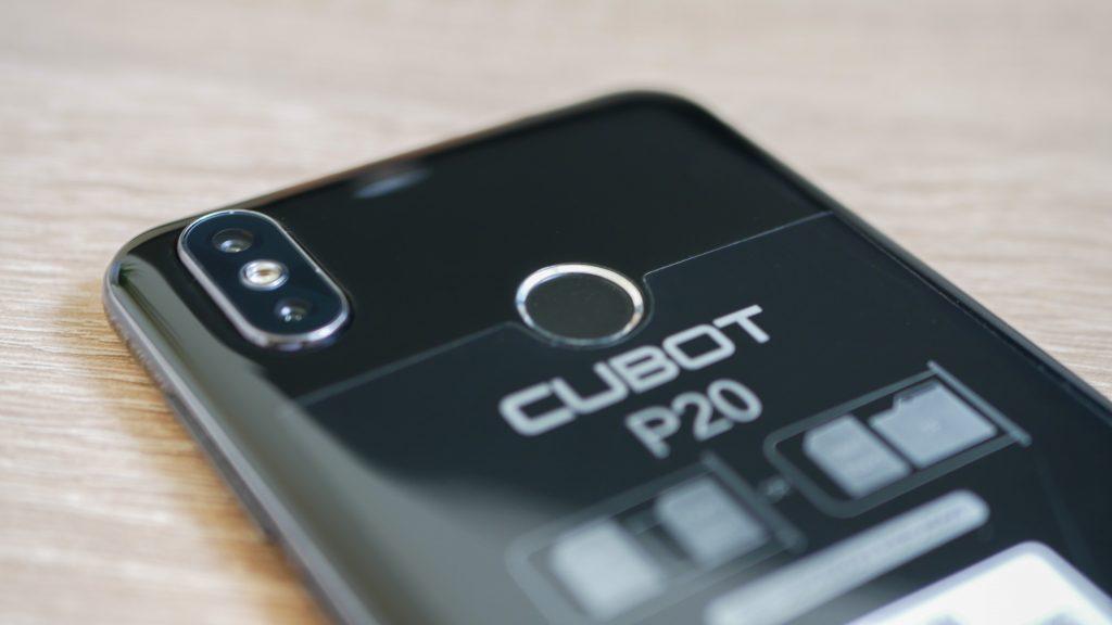Cubot p20 kamera