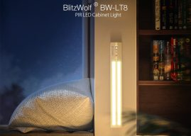 Frissítést kapott a BlitzWolf BW-LT8 mozgásérzékelős lámpája! Sokkal jobb lett, mint volt!