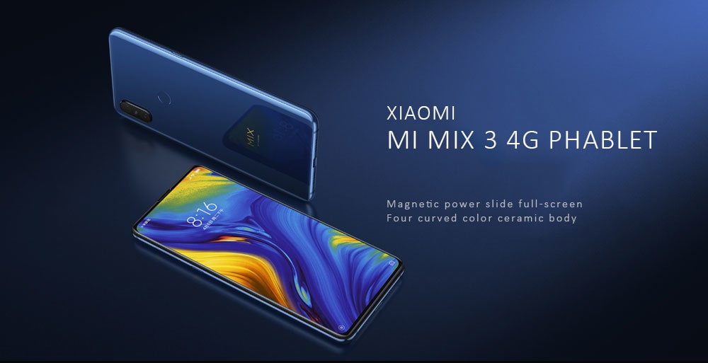xiaomi mi mix 3 global version