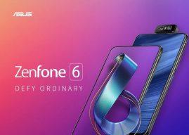 A nagy gyártók felköthetik a gatyájukat! Itt az ASUS Zenfone 6 a legújabb csúcsprocesszorral és forgatható kamerával!