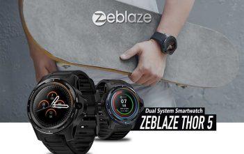 zeblaze thor 5 header