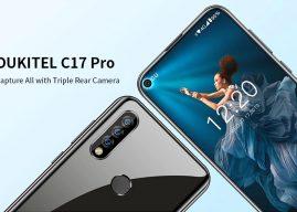 Samsung Galaxy S10e szerű előlapi kamerával érkezett meg az Oukitel C17 Pro!