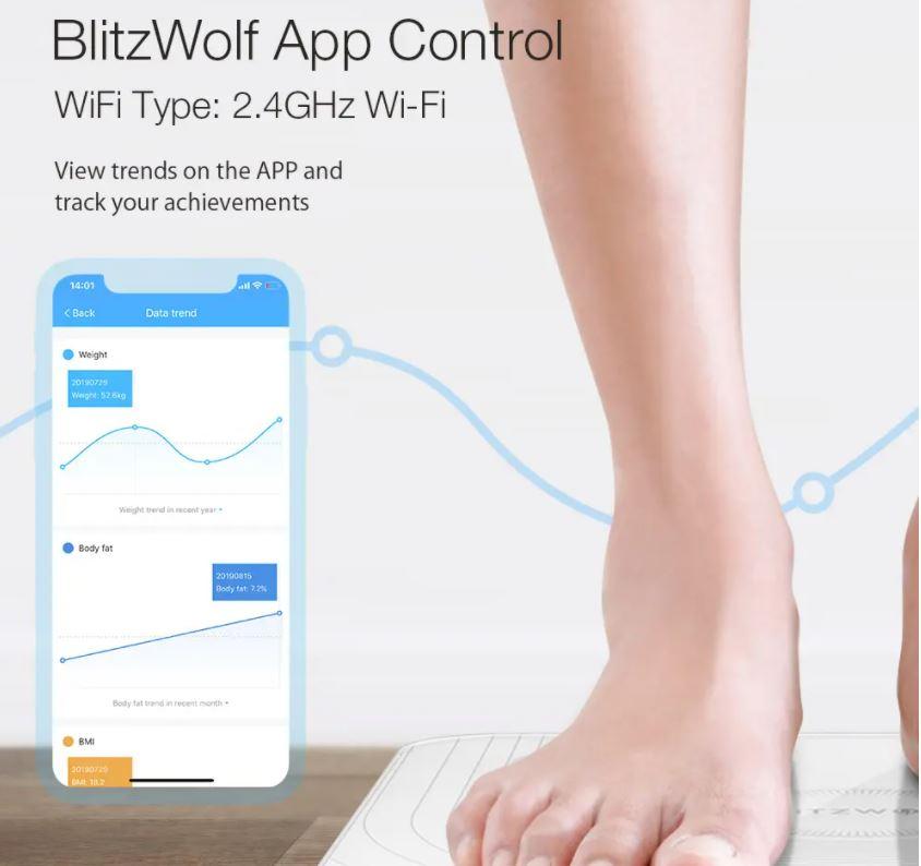 BlitzWolf BW-SC1 okosmérleg 1