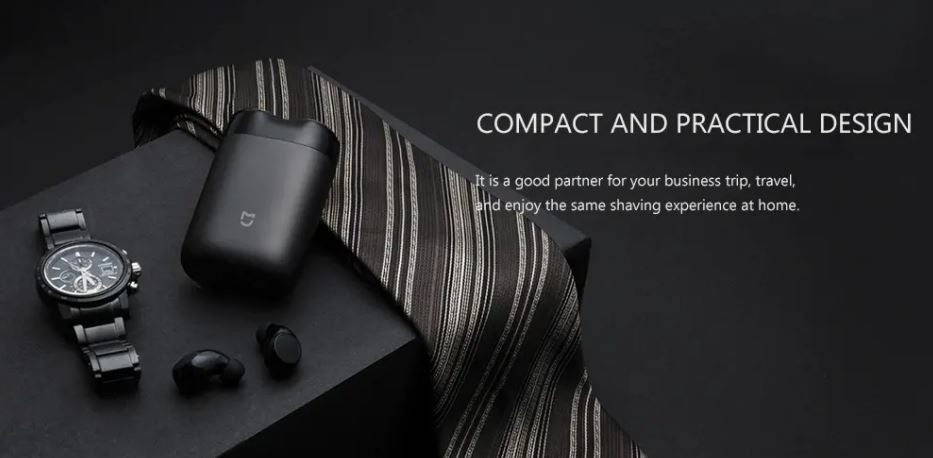 Mini Xiaomi elektromos borotva 1