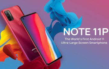 Ulefone Note 11P header