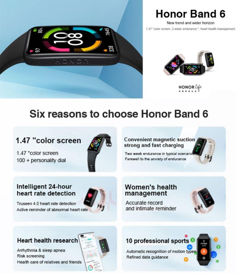 honor band 6 1