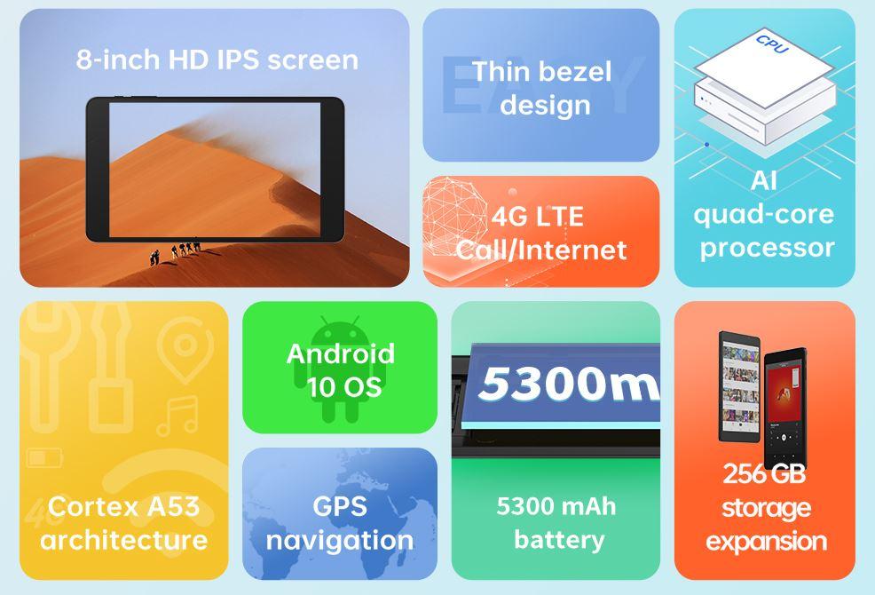 Alldocube iPlay 8T specs