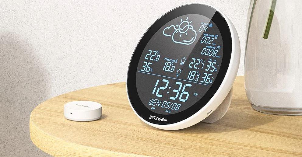 BlitzWolf BW-WS02 okos időjárásállomás