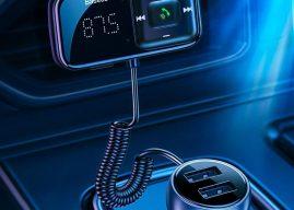Gond nélküli telefonálás az autóban – Baseus FM transzmitter teszt