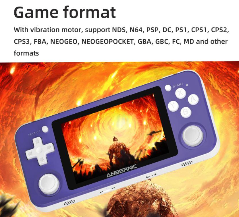 ANBERNIC RG351P game format