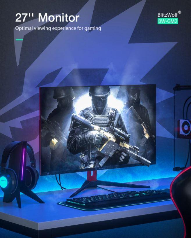blitzwolf gamer monitor