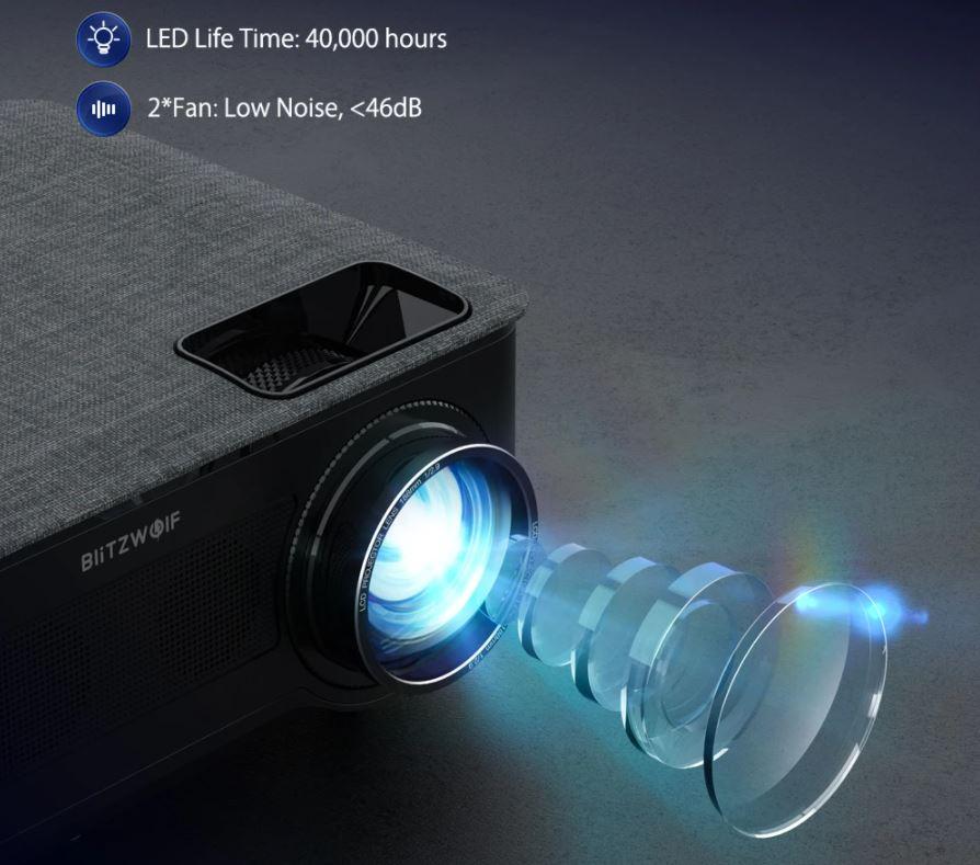 BlitzWolf BW-VP10 projektor 3