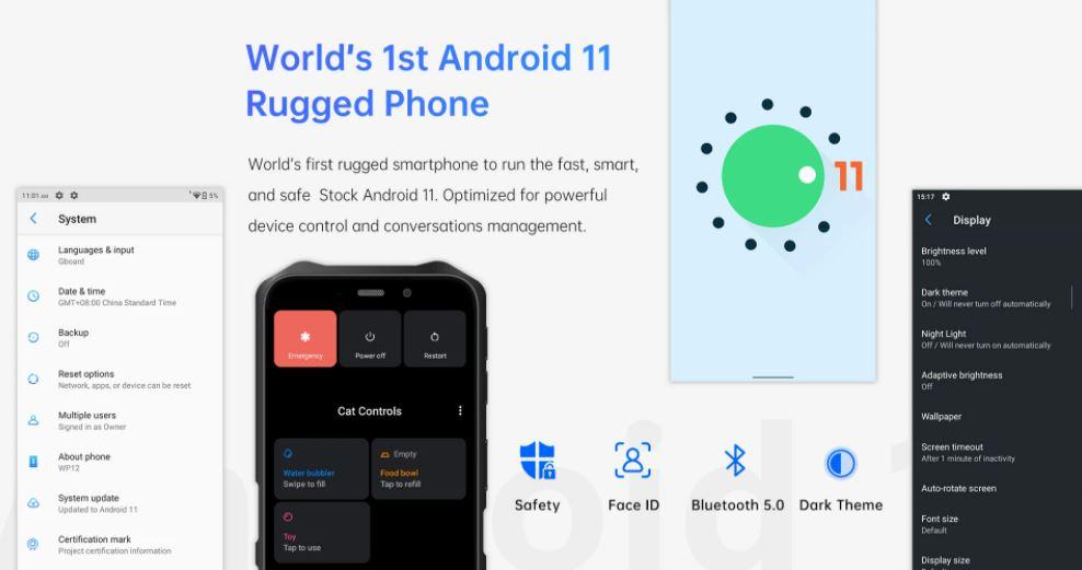 Oukitel WP12 android 11