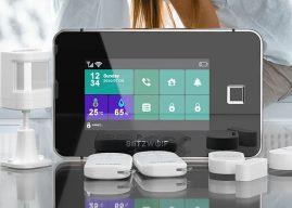 BlitzWolf BW-IS20 okos riasztórendszer, hogy biztonságban tudd az otthonodat