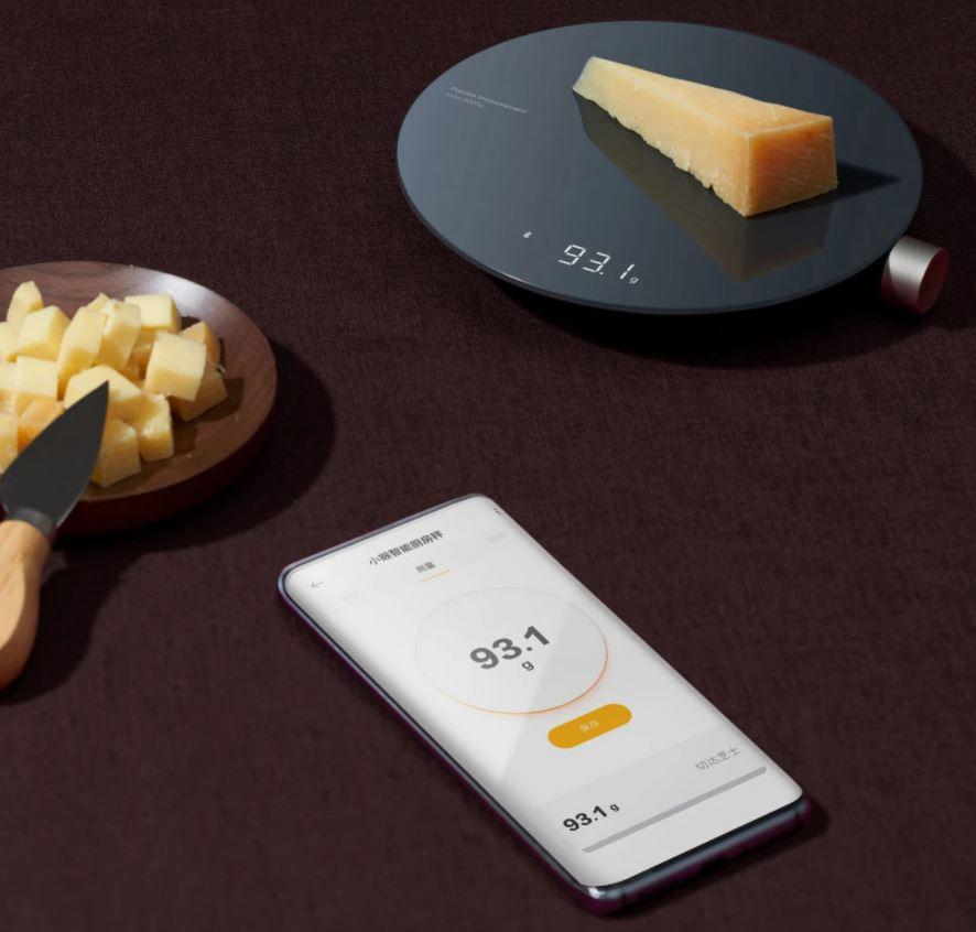 HOTO digitális konyhai mérleg okos funkcióval 1