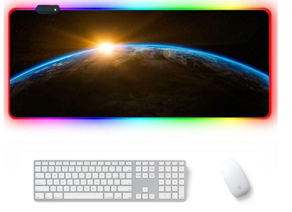 Óriási egérpad RGB világítással 2
