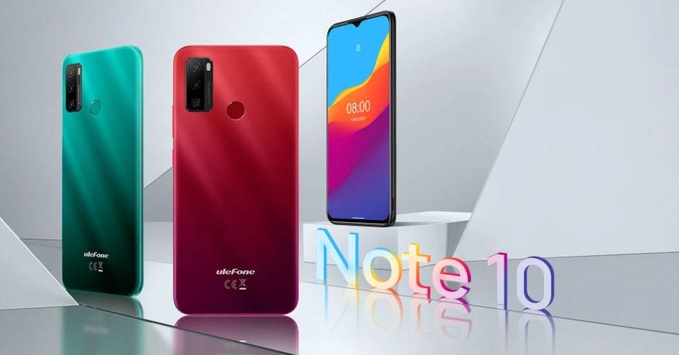 Ulefone Note 10 header