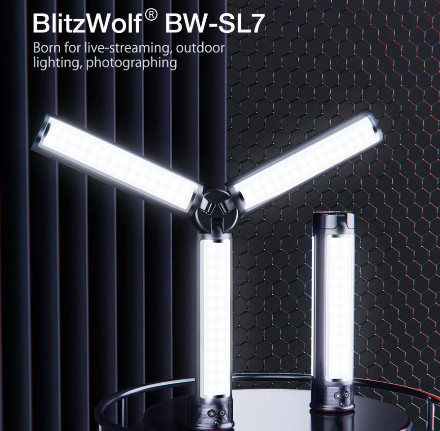 blitzwolf lámpa