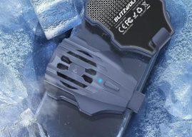 A nagy hőségben mindenkinek kell egy kis hűvös levegő, így megjelent a BlitzWolf BW-MPR mobiltelefon hűtő