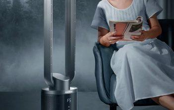 Légtisztító és ventilátor