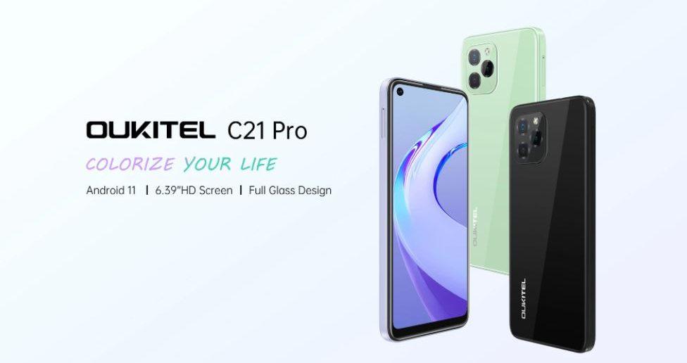 Oukitel C21 Pro header
