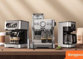 Most éri meg kávéfőzőt vásárolni, mert indul a Banggood kávéfesztivál