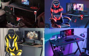 gamer székek és asztalok